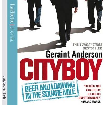 Cityboy by Geraint Anderson AudioBook CD