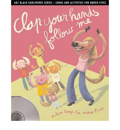 Clap Your Hands Follow Me by Emily Skinner AudioBook CD
