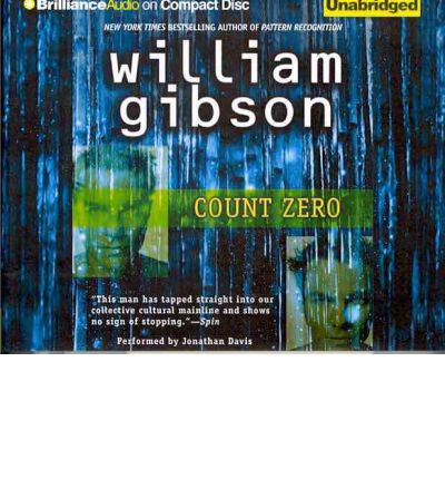 Count Zero by William Gibson AudioBook CD