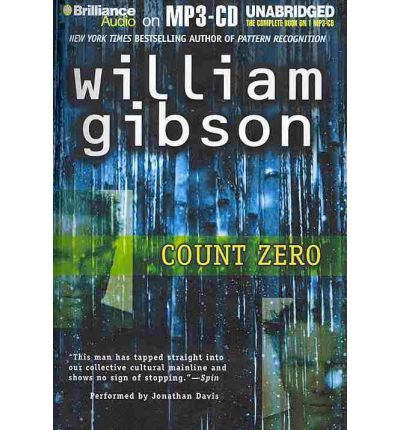 Count Zero by William Gibson AudioBook Mp3-CD