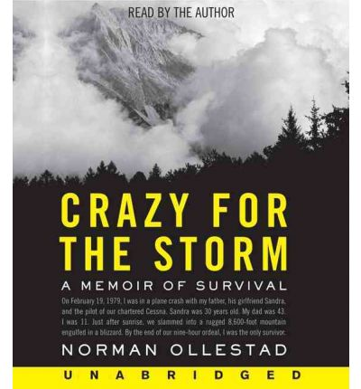 Crazy for the Storm by Norman Ollestad AudioBook CD
