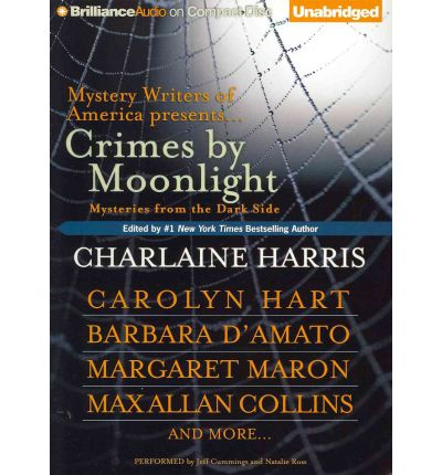 Crimes by Moonlight by Charlaine Harris AudioBook CD