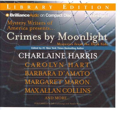 Crimes by Moonlight by Charlaine Harris Audio Book CD