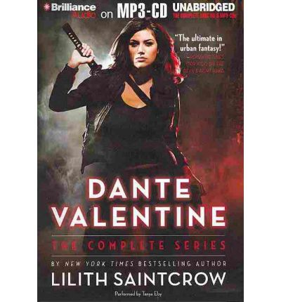 Dante Valentine by Lilith Saintcrow AudioBook Mp3-CD