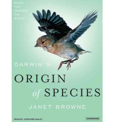 "Darwin's ""Origin of Species"" by Janet Browne Audio Book Mp3-CD"