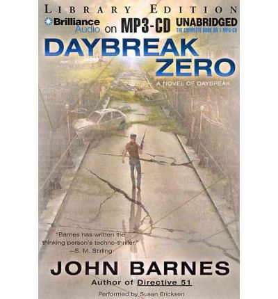 Daybreak Zero by John Barnes AudioBook Mp3-CD