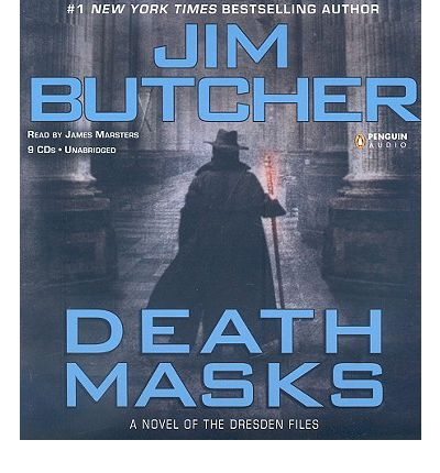 Death Masks by Jim Butcher Audio Book CD