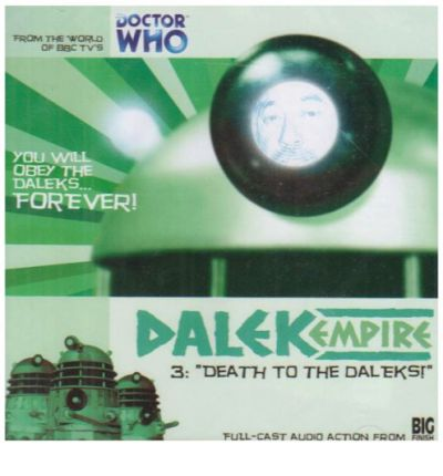 Death to the Daleks by Nicholas Briggs AudioBook CD