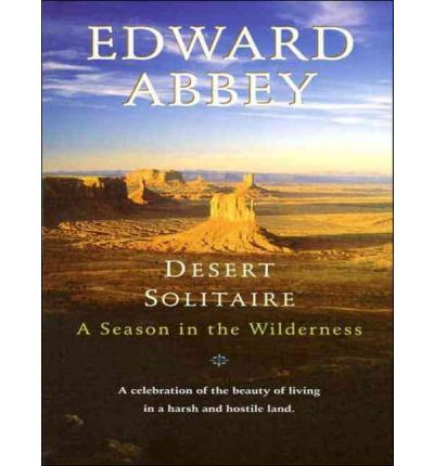 Desert Solitaire by Edward Abbey AudioBook CD