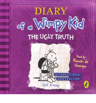 Diary of a Wimpy Kid: The Ugly Truth by Jeff Kinney AudioBook CD