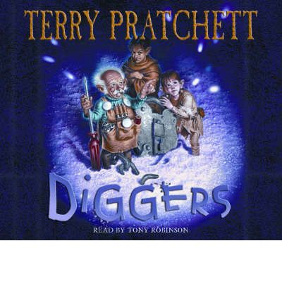Diggers by Terry Pratchett Audio Book CD