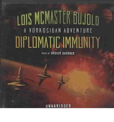 Diplomatic Immunity by Lois McMaster Bujold AudioBook CD