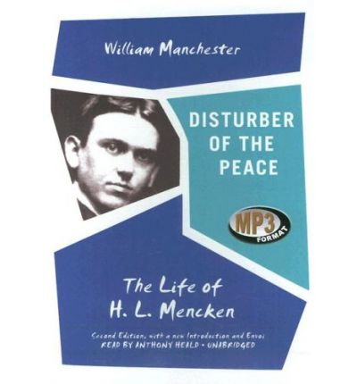 Disturber of the Peace by William Raymond Manchester AudioBook Mp3-CD