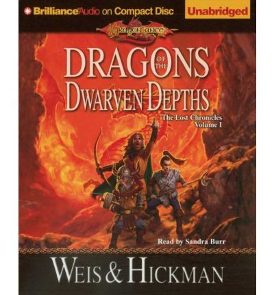 Dragons of the Dwarven Depths by Margaret Weis Audio Book CD