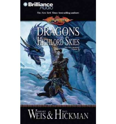 Dragons of the Highlord Skies by Margaret Weis Audio Book CD