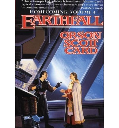 Earthfall by Orson Scott Card Audio Book Mp3-CD