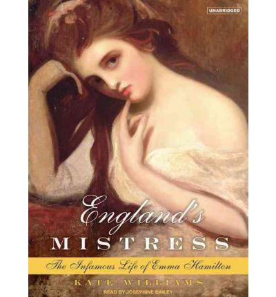 England's Mistress by Kate Williams Audio Book CD