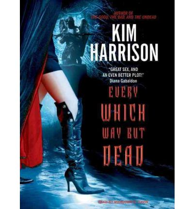 Every Which Way But Dead by Kim Harrison Audio Book Mp3-CD