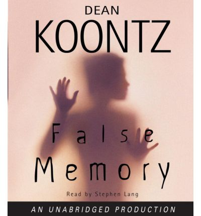 False Memory by Dean R Koontz AudioBook CD