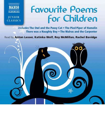 Favourite Poems for Children by Anton Lesser AudioBook CD