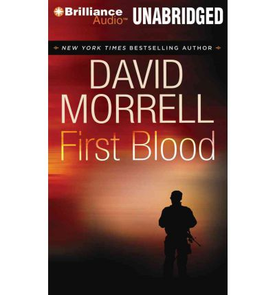 First Blood by David Morrell AudioBook CD