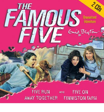 Five Run Away Together: AND Five on Finniston Farm by Enid Blyton Audio Book CD