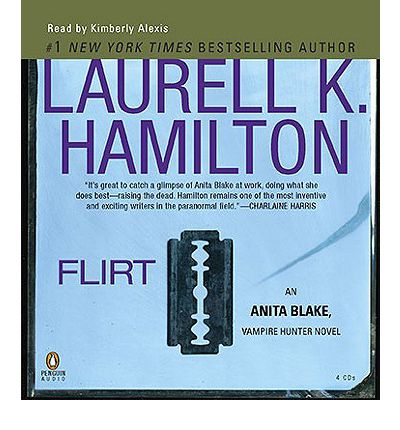 Flirt by Laurell K Hamilton AudioBook CD