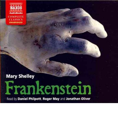 Frankenstein by Mary Wollstonecraft Shelley AudioBook CD