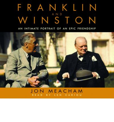 Franklin and Winston by Jon Meacham AudioBook CD