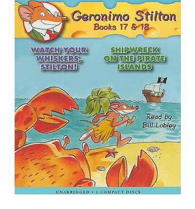 Geronimo Stilton, Books 17 & 18 by Geronimo Stilton Audio Book CD