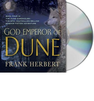 God Emperor of Dune by Frank Herbert AudioBook CD