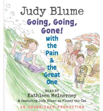 Going, Going, Gone! with the Pain & the Great One by Judy Blume Audio Book CD