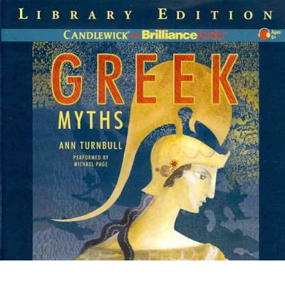 Greek Myths by Ann Turnbull AudioBook CD