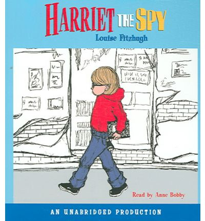 Harriet the Spy by Louise Fitzhugh AudioBook CD