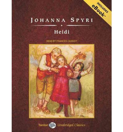 Heidi by Johanna Spyri AudioBook Mp3-CD