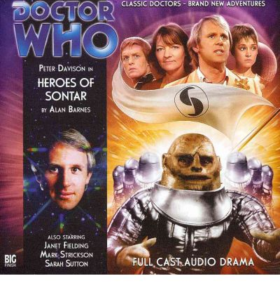 Heroes of Sontar by Alan Barnes AudioBook CD