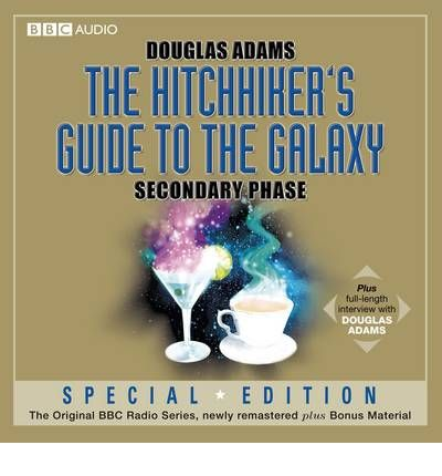Hitchhiker's Guide to the Galaxy: Secondary Phase by Douglas Adams Audio Book CD