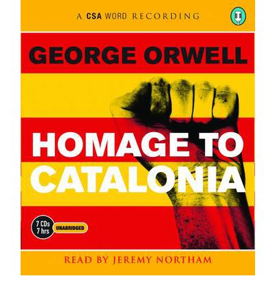 Homage to Catalonia by George Orwell AudioBook CD