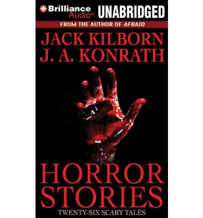 Horror Stories by Jack Kilborn Audio Book Mp3-CD