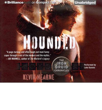 Hounded by Kevin Hearne AudioBook CD