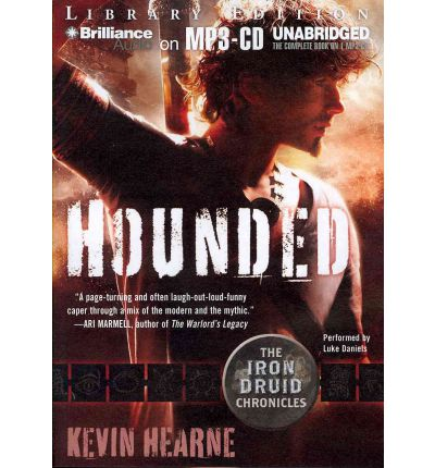 Hounded by Kevin Hearn AudioBook Mp3-CD