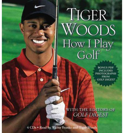How I Play Golf by Tiger Woods Audio Book CD