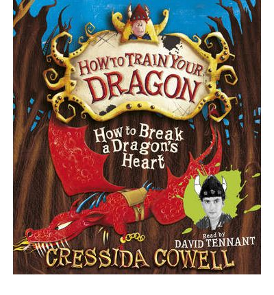 How to Break a Dragon's Heart by Cressida Cowell Audio Book CD
