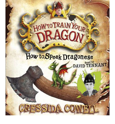 How to Speak Dragonese by Cressida Cowell AudioBook CD