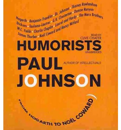 Humorists by Paul Johnson Audio Book CD