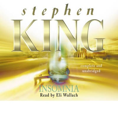 Insomnia by Stephen King Audio Book CD