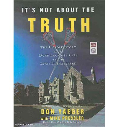 It's Not About the Truth by Don Yaeger AudioBook Mp3-CD
