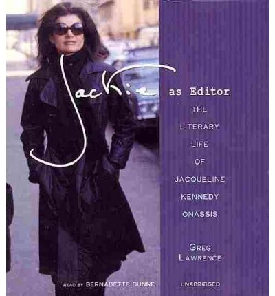 Jackie as Editor by Greg Lawrence Audio Book CD