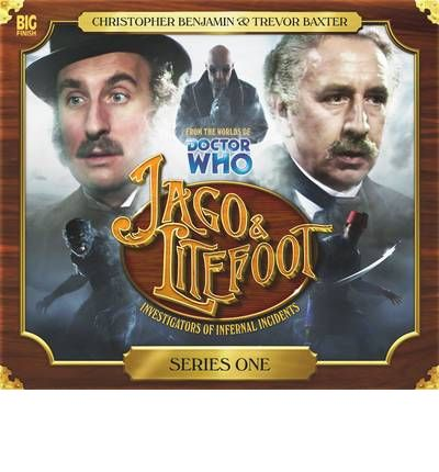 Jago & Litefoot Season One by Justin Richards Audio Book CD