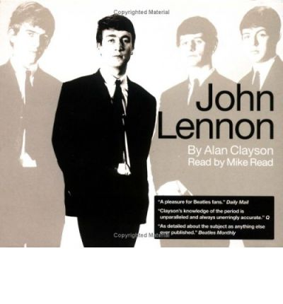 John Lennon by Alan Clayson AudioBook CD